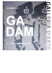 Copertina Quaderno GADAM