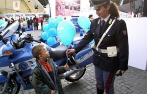 polizia bambini