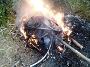 rame bruciato