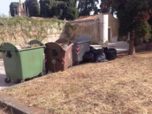 rifiuti cimitero