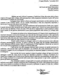 documento Famiano Pd