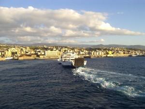 nave sullo stretto