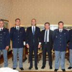 Promozione e riconoscimento al merito civile per i poliziotti santagatesi della scorta Antoci.