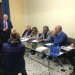 Bruno Mancuso, incontri per il programma. Oggi istruzione, solidarietà e servizi sociali
