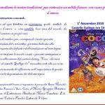Giovedì 1 novembre iniziative per i bambini al castello
