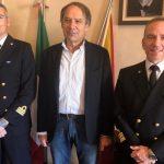 Guardia Costiera, visita del Capitano Terranova. Intesa e continuità della collaborazione istituzionale
