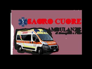 Logo Sacro Cuore ambulanze Meneghini e Fazio