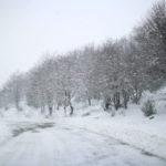 Neve e viabilità sui Nebrodi. La situazione oggi