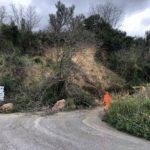 Militello Rosmarino, ancora una frana sulla provinciale per San Piero