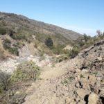 Frana di Oliva, preoccupa lo scivolamento sul torrente Inganno. Atteso il direttore della Protezione civile siciliana