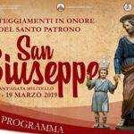 La comunità santagatese si prepara a celebrare il Santo patrono San Giuseppe. Ecco il programma.