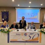 La festa per i 50 anni del Rotary Club Sant'Agata Militello