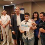 """Progetto """"A scuola di vela&sub"""", consegnati i diplomi agli studenti dell'Itis"""