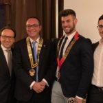 Passaggio della campana al Rotary, Cono Ceraolo nuovo presidente
