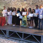 Che festa per gli studenti centisti. Tutti i premiati e le foto della cerimonia al castello.