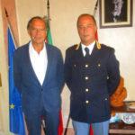 Il benvenuto del sindaco Mancuso al Dr. Di Mauro, nuovo dirigente del commissariato