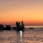 Maria Santissima del mare, il passaggio della suggestiva processione (video)