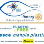 """Il Rotary dona alla città due """"pesci mangia plastica"""". Domani la consegna in spiaggia."""