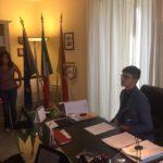 """Il liceale santagatese Salvatore Di Piazza """"Assessore regionale per un giorno""""."""