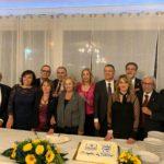 La XV Charter del Lions Club di Sant'Agata Militello.