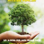 """""""Un albero per ogni nuovo nato"""", comitato civico santagatese lancia la raccolta firme."""