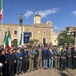 4 novembre, in piazza Crispi l'omaggio ai Caduti di tutte le guerre (le foto).