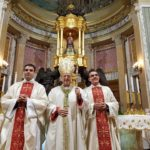 Comunità in festa per l'ordinazione presbiterale di Antonio Di Bella e Giuseppe Lombardo.