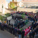Cerimonia solenne in onore di Santa Barbara, protettrice della Marina e dei Vigili del Fuoco.