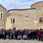 """Progetto """"Tutti insieme"""". Al castello gli studenti dell'Itet e del """"Marconi""""."""