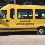 Servizio scuolabus, ben tre mezzi comunali per gli alunni delle scuole santagatesi.