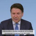 Ora è ufficiale, scuole chiuse in tutta Italia fino al 15 marzo.