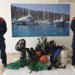Sorpesi, nonostante le restrizioni, a pesca subacquea notturna. Due giovani multati e denunciati.