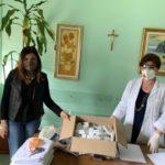 Ospedale, donate altre cento mascherine.