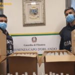 Falso gel igienizzante. Maxi blitz della Guarda di Finanza di Messina. Sequestrati oltre 6.000 flaconi.
