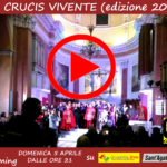 Via Crucis vivente 2018 streaming