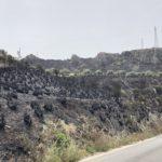 Torrenova, il costone incenerito. Dopo la paura resta, ovunque, la preoccupazione per pulizia e manutenzione dei terreni.