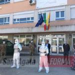 """Sanificazione scuole, anche a Sant'Agata la task force della """"Brigata Aosta"""" (le foto)"""