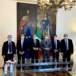 Parco dei Nebrodi, incontro tra Barbuzza, il presidente Musumeci e l'assessore Cordaro.