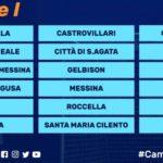 Serie D, ecco il girone I. Il S.Agata con altre nove siciliane.