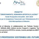 """""""Le professioni sostenibili del futuro"""". Evento di Itis """"Torricelli"""" e Unioncamere Sicilia."""