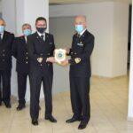Guardia Costiera, la visita a Sant'Agata del Capo compartimento Cap. Massimiliano Mezzani.