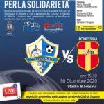 Città S.Agata vs Fc Messina. Mercoledì amichevole di beneficienza.