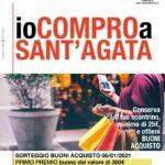 """""""Io compro a Sant'Agata"""", in palio buoni acquisto per i clienti."""