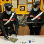Trasportavano marijuana in auto. Due arresti dei Carabinieri.