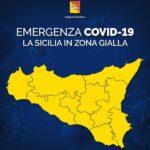 Zona gialla, nuove regole per la Sicilia dal 15 febbraio.
