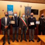 Capo d'Orlando, conferiti tre riconoscimenti pubblici a esponenti di Carabinieri e Polizia.