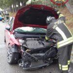 A20, incidente autonomo nel pressi di Sant'Agata. Feriti lievi.