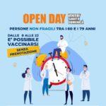 Open day vaccinazione, sabato e domenica anche all'ospedale di Sant'Agata.