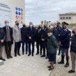 Lavori spediti per la nuova sede di Polizia e il Porto. La visita dell'assessore regionale Falcone.