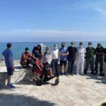 Volontariato ambientale, ripulito un tratto di spiaggia
